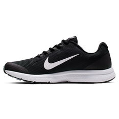 Nike RunAllDay Mens Running Shoes, Black / White, rebel_hi-res