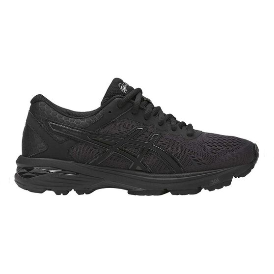 new style e36e0 ebdf4 Asics GT 1000 6 Womens Running Shoes Black US 7, Black, rebel hi-res