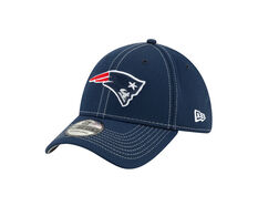New England Patriots Sideline Road 39THIRTY Stretch Fit Cap Navy S / M, Navy, rebel_hi-res