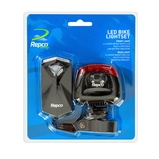 Repco LED Bike Light Set, , rebel_hi-res