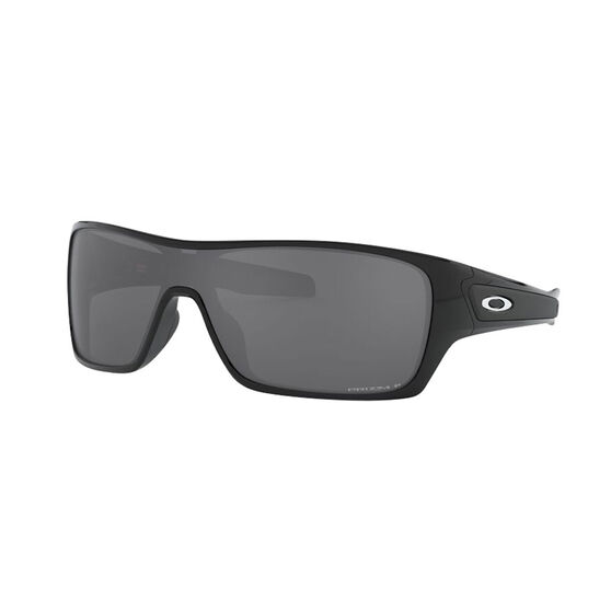 OAKLEY Turbine Rotor Sunglasses - Polished Black with PRIZM Black Polarized, , rebel_hi-res