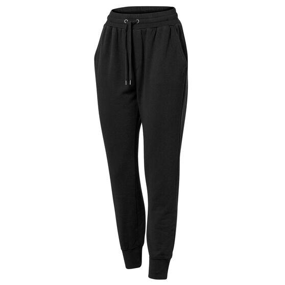Ell & Voo Womens Savannah Fleece Pants, Black, rebel_hi-res