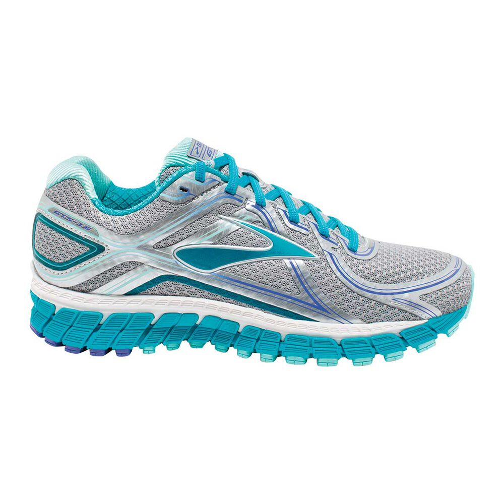 ddc01571a243 Brooks Adrenaline GTS 16 Womens Running Shoes Silver   Blue US 6 ...