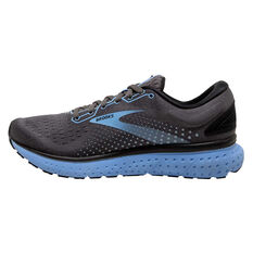 Brooks Glycerin 18 Womens Running Shoes, Black/Grey, rebel_hi-res
