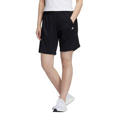 adidas Womens Lightweight Shorts Black XS, Black, rebel_hi-res