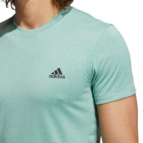 Adidas Mens Urban GlobalTee, Green, rebel_hi-res