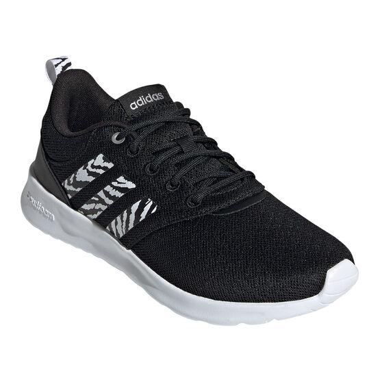 adidas QT Racer 2.0 Womens Casual Shoes, Black, rebel_hi-res