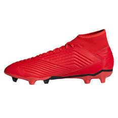 adidas Predator 19.3 Mens Football Boots Red / Black US 7, Red / Black, rebel_hi-res