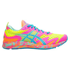 Asic GEL Noosa Tri 12 Womens Running Shoes Yellow / Blue US 6, Yellow / Blue, rebel_hi-res