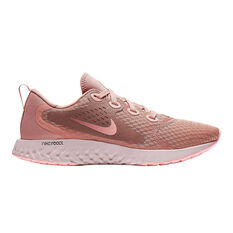 Nike Legend React Womens Running Shoes Pink / White US 6, Pink / White, rebel_hi-res