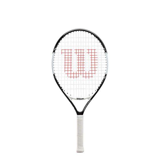 Wilson Pro Staff Tennis Racquet, Black / White, rebel_hi-res