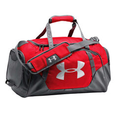 Under Armour Undeniable 3.0 Small Grip Bag Red / Grey, , rebel_hi-res