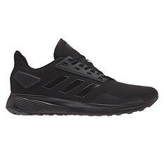 adidas Duramo 9 Mens Running Shoes Black US 6, Black, rebel_hi-res