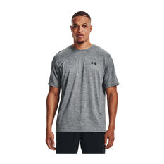 Under Armour Mens Training Vent Short Sleeve Tee Grey XS, Grey, rebel_hi-res
