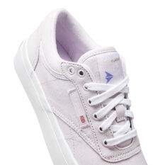 Reebok Club C Coast Womens Casual Shoes, Lilac/White, rebel_hi-res