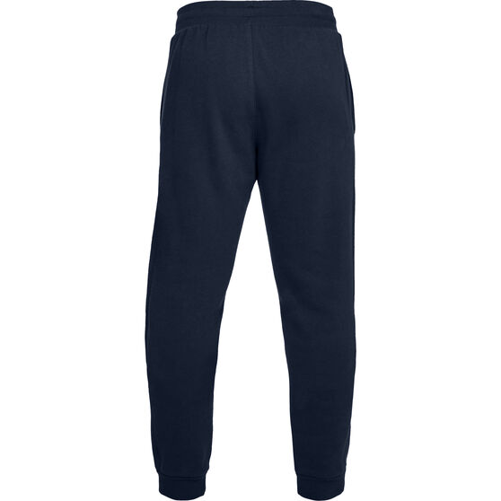 Under Armour Mens Volume Fleece Running Pants, Navy, rebel_hi-res