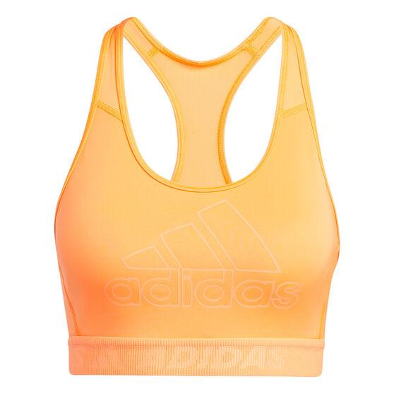 adidas Womens Don't Rest Sports Bra, Orange, rebel_hi-res