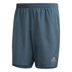 adidas Mens Run It Running Shorts Blue XS, Blue, rebel_hi-res
