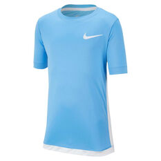 Nike Boys Dri-FIT Trophy Training Tee Blue / White XS, Blue / White, rebel_hi-res