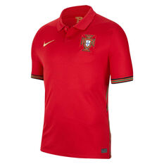 Portugal 2020 Mens Stadium Home Jersey Red S, Red, rebel_hi-res