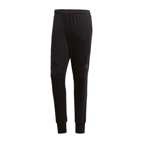 adidas Mens Prime Workout Training Pants, Black, rebel_hi-res