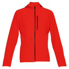 Under Armour Mens Outrun the Storm Jacket Red S, Red, rebel_hi-res