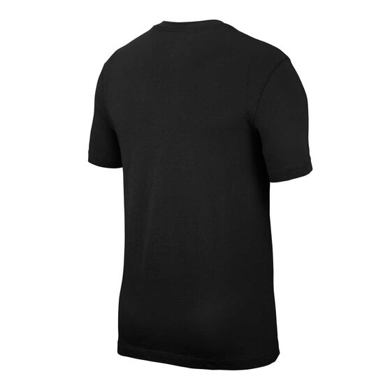 Nike Mens Sportswear Just Do It Outline Tee, Black, rebel_hi-res