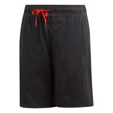 5b543181 adidas Boys Stadium ID Training Shorts Black 10, Black, rebel_hi-res ...