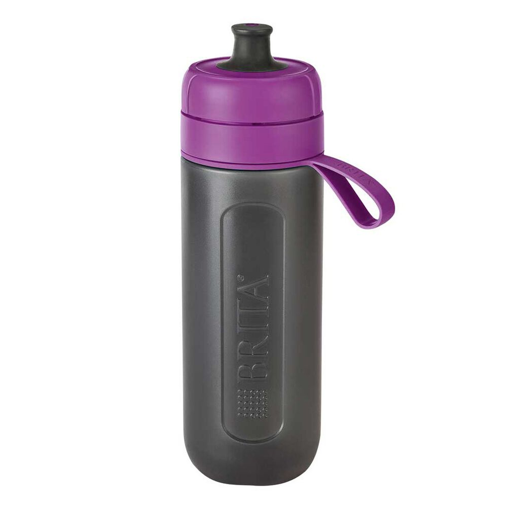 Brita Fill And Go Active 600ml Filter Water Bottle Purple