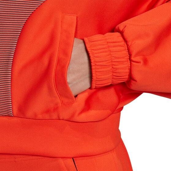 adidas Karlie Kloss Womens Cover Up Jacket, Orange, rebel_hi-res