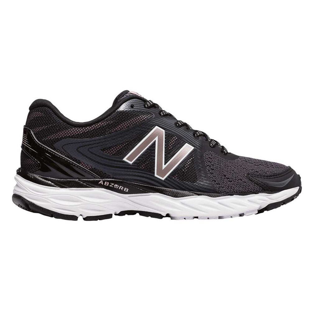 dc1fbcb177e New Balance 680 v4 Womens Running Shoes Black US 10