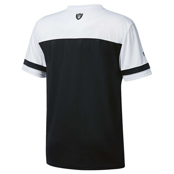 Oakland Raiders Poly Mesh Tee S, , rebel_hi-res