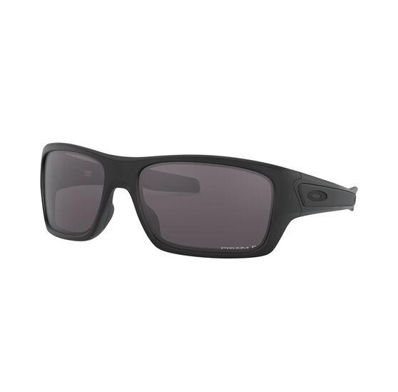 OAKLEY Turbine Sunglasses - Matte Black with PRIZM Grey Polarized, , rebel_hi-res