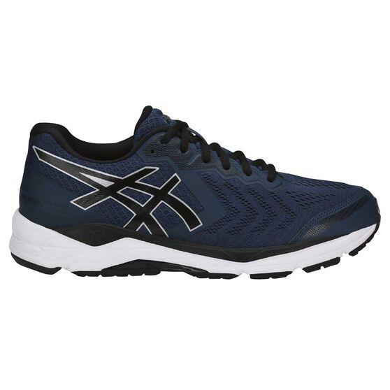 82ae0ed61272 Asics GEL Foundation 13 4E Mens Running Shoes Navy   White US 10 ...