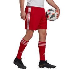 Adidas Mens Squadra 21 Shorts, Red, rebel_hi-res