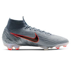 cd81d5059 ... Nike Mercurial Superfly VI Elite Football Boots Grey   Blue US Mens 6    Womens 7.5