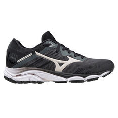 Mizuno Wave Inspire 16 Womens Running Shoes Black/White US 6, Black/White, rebel_hi-res
