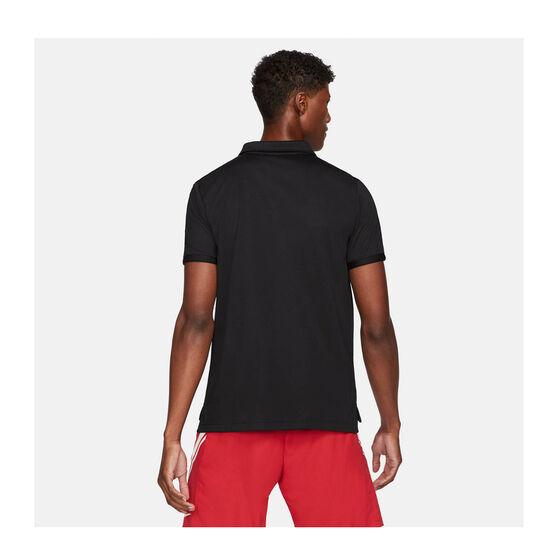 NikeCourt Dri-FIT Victory Men's Tennis Polo, Black, rebel_hi-res