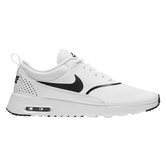 Nike Air Max Thea Womens Casual Shoes, White / Black, rebel_hi-res