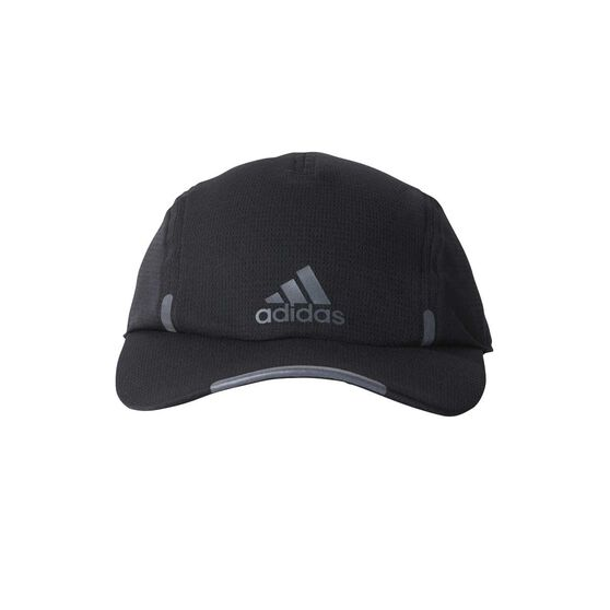 adidas Mens Climacool Running Cap Black OSFA  ba2d59b1010