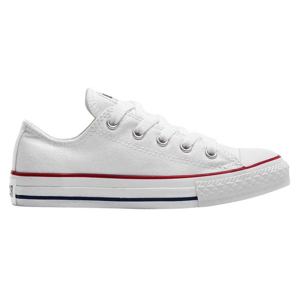 d220724da985b8 Converse Chuck Taylor All Star Ox Junior Casual Shoes White   White US 11