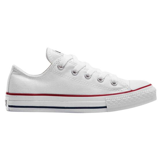 7b5758b298cd39 Converse Chuck Taylor All Star Ox Junior Casual Shoes White   White US 11