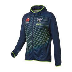 Canberra Raiders 2019 Mens Team Hoodie Blue / Green S, Blue / Green, rebel_hi-res