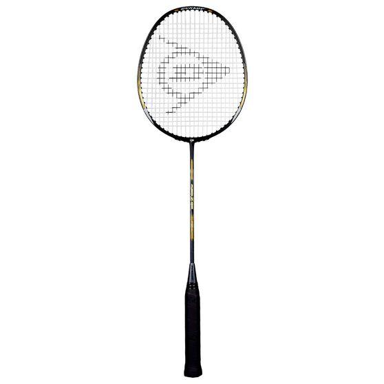 Dunlop Fusion Z1000 Badminton Racquet Black / Gold, Black / Gold, rebel_hi-res