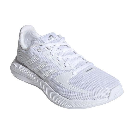 adidas Runfalcon 2.0 Kids Running Shoes, White, rebel_hi-res
