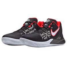 Nike Kyrie Flytrap II Mens Basketball Shoes, Black / White, rebel_hi-res