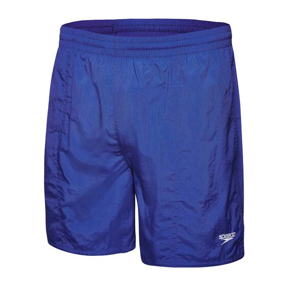 Speedo Solid Leisure Mens Swim Shorts, Purple, rebel_hi-res