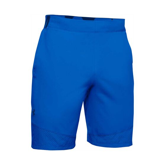 Under Armour Mens Vanish Woven Shorts, Blue, rebel_hi-res