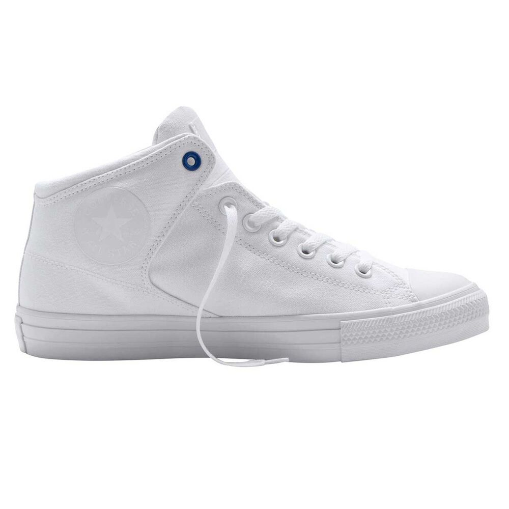 964c203bec4847 Converse Chuck Taylor All Stars High Street High Mens Casual Shoes White    Navy US 8
