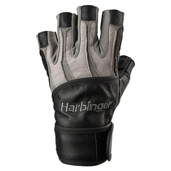 Harbinger BioForm Wrist Wrap Glove, Grey, rebel_hi-res